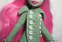 Crochet - Monster High Dolls