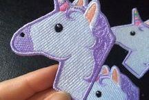 Unicorns / #unicorn #gifts #plush #myths #legends #poo #pillow #ideas #cute #glitter #glitzy #kawaii #girls #party #birthday #pink #purple #blue #rainbow #rainbows #bestfriend #makeupbags #illustration #gift #horn #horse #horses #fuzzy