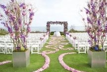 Wedding Ceremony / Aisle decor, altars, unique ideas, etiquette tips and more to help you create the perfect wedding ceremony.
