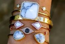 gems / Earrings, bracelets, necklaces, rings...oh my! / by Aly Simon