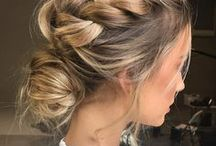 hair inspiration / Scroll through for bohemian braids and messy waves. Serious hair inspiration ahead!