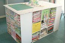 Ideas - Craft Rooms / by Jolene Mohr