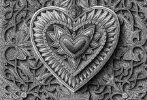 ♥ hearts! ♥ / by Holly Rushakoff