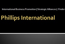 Phillips International  / Phillips International helps clients raise their company's global profile and market their business to an international audience quickly and inexpensively through social media, email marketing and strategic alliances. http://phillipsinternational.weebly.com