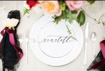 Place Cards & Escort Signs