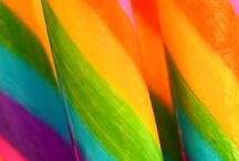 Something like rainbow / Because the #colors make me #happy, and the world is full of #beautiful colors