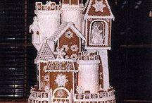 Christmas - Gingerbread Houses / by Jolene Mohr