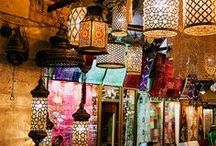 Bazaars, Souks, Markets, Street Food, Shops