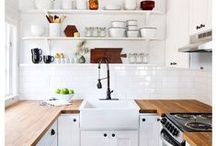 home - kitchen // dining / Cook. Bake. Eat. / by Aly Simon