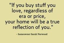 Well-Styled / Quotes, ideas and advice about interior decorating and furniture for the home.