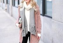 winter fashion / Time to layer up! Cute coats and fuzzy fabrics make for the best options when you're wondering what to wear in winter!