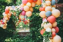 party decor / Cute and fun decor for entertaining at your next party!