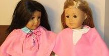 """18"""" Doll and American Girl Doll Projects / Learn how to make projects for your 18"""" doll or American Girl doll.  Lots of fun projects."""