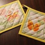 DIY - Kitchen Projects / DIY Projects for your kitchen.   Sewing, machine embroidery and quilted projects for your kitchen.