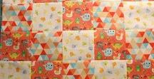 """Learn to Quilt Series / Learn how to make your first quilt with our series of videos.  We make a small quilt using 5"""" blocks."""