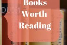 Books Worth Reading / Good books to read. Homemaking. Homeschooling.