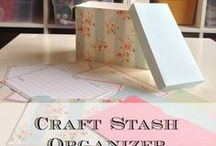 Craft Your Own Organizers / DIY Homemade organizing containers for organizing all areas of your home.