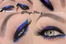 Oooh...Pretty!! / Make-up and hair ideas