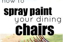 Painted Furniture And Other Painted stuff