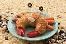 Food Art / Decorated cakes, decorated cookies, cup cakes, Jack-O-Lanterns, bento - artistic food or food made to look cute. Also, toys and sculptures that look like food, misc. food products (lip balms etc). / by K. Fairbanks