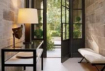 entrances, doorways + foyers