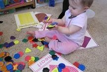 Toddler Games / Simple ideas for littles that are learning through discovery play.  / by Brooklyn Chavers