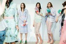 Fashion Week:  New York, London, Milan & Paris / Spring/Summer 2014.