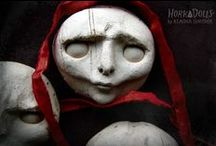 Dolls / Puppets / Marionettes / by Angie