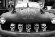 Rat Rods-n-Stuff / Rat Rods are hacked together vehicles generally associated with the rockabilly lifestyle...