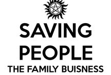 Supernatural / Saving People, Hunting Things, the Family Business / by Kate Cav