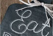 Chalkboard Love / A board dedicated to all things chalkboard including printables, DIY chalkboards and chalkboard accessories, big and small.