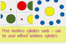 Knobless Cylinder Activities & Printables