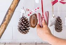 C H R I S T M A S · D E C O R / Christmas decor and craft ideaos