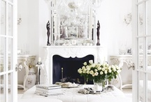 ALL White Interiors / by Cynthia Young