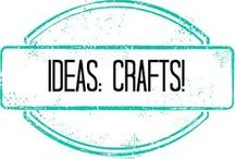 Ideas::CraftCraftCraft / by Tiffany Skaar
