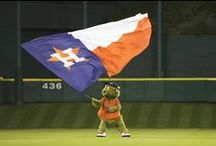Orbit the Astros' Mascot / Best mascot in baseball and all of sports -- Orbit!