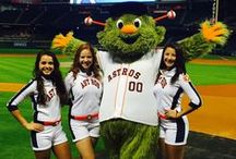 Astros Shooting Stars / The Coca Cola Shooting Stars bring the fun to Astros games at Minute Maid Park and to community appearances around H-Town!