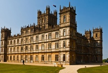 Downton Abbey Spaces / Great views of Highclere Castle