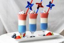 Fourth of July fare / Red, white and blue patriotic provisions from the General Mills family of websites. / by General Mills