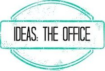 Ideas::The Office / Things for my office! / by Tiffany Skaar