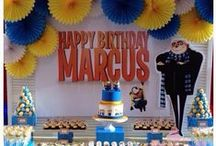 Despicable Me Party / Despicable Me Child's Birthday Party - Minion Theme