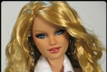 BARBIE / The most beautiful Barbie dolls on the market.