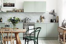 KITCHEN / On y passe le plus clair design temps. La cuisine est devenue la pièce phare d'une maison. Autant qu'elle soit originale et sympathique !