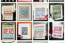 Seasonal Printables / by Black+Blush