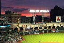 Minute Maid Park / Located in the heart of downtown Houston, the Astros' home ballpark combines the feel of an classic old-time park with the amenities of modern ones.