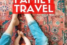 Family Travel / Still a few years away from trying to grow our family, but I keep coming across amazing tips and tricks for family travel that I need to store somewhere! Never too early to prepare for life goals :)