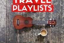 Travel Playlists / A good playlist is my #1 coping mechanism for travel anxiety!