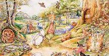 Bean's Nursery / Beatrix Potter Nursery - Vintage Peter Rabbit Nursery - Uncommon Nursery - Green Nursery - Gender Neutral Nursery - Vintage Nursery - DIY Nursery