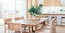 D I N I N G . S P A C E S / Beautiful dining spaces