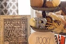 Holidays ❖ Halloween Decorating Ideas / Spooky Halloween Decor to Frighten Those Who Dare Enter Your Spooky Abode